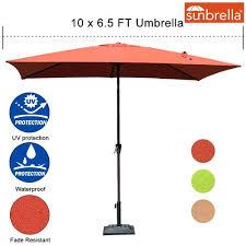5 ft umbrella canopy outdoor x ft canopy rectangular umbrella patio garden outdoor aluminum market blossom
