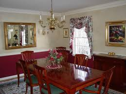 Paint Ideas For Dining Rooms Dining Room With Chair Rail Paint - Dining room color ideas with chair rail