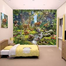 forest bedroom wallpaper uk. walltastic animals of the forest mural - 43060 bedroom wallpaper uk h