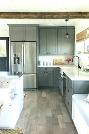 grey stained maple kitchen cabinets gray medium size of cab
