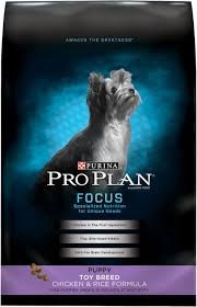 Purina Pro Plan Focus Puppy Toy Breed Formula Dry Dog Food 5 Lb Bag
