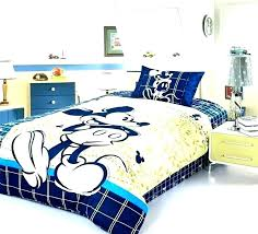 bed sheets full mickey mouse bedding l size set toddler comforter of kids and king stirring bed sheets