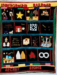 Threads of Freedom: The Underground Railroad Story in Quilts & Barbara Payne Columbus, OH The Underground Railroad c. 1998. Cottons,  cotton blends 72