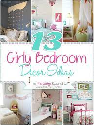 The most common girly bedroom decor material is cotton. 13 Girly Bedroom Decor Ideas The Weekly Round Up The Crafting Nook