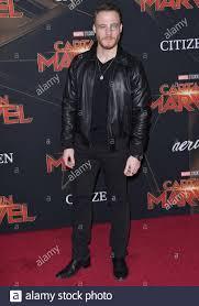 Kerem Bursin kommt in den Marvel Studios 'Captain Marvel' Los Angeles  Premiere im El Capitan Theater in Hollywood, CA am Montag, 4. März 2019.  (Foto von Sthanlee B. Mirador/Sipa USA Stockfotografie - Alamy