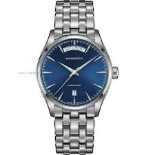 men s hamilton jazzmaster day date automatic watch h32505141 mens hamilton jazzmaster day date automatic watch h32505141