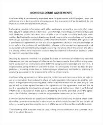 Sample Basic Confidentiality Agreement Template And Checklist Simple