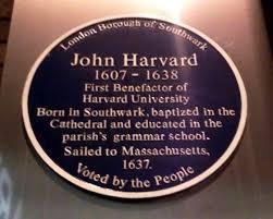 「John Harvard」の画像検索結果