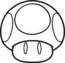 Mario Mushroom Google Search 学祭 ぬり絵マリオ絵