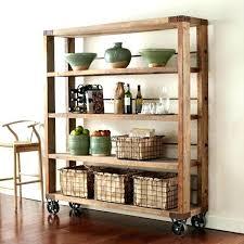 library ladder wheels bookshelf on wheels reclaimed wood amp pipe shelving unit on wheels reclaimed wood