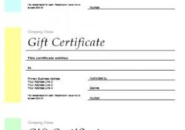 Microsoft Word Templates Gift Certificates Avery Gift Certificate Template 11 Free Gift Certificate Templates