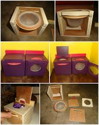 homemade dolls house furniture. homemade barbie doll house spinning washer and dryer my daughter likes the littles details when dolls furniture
