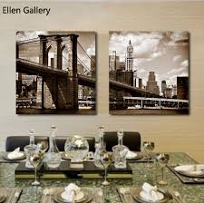 brooklyn bridge home goods wall art canvas painting cuadros decoration wall pictures for living roon in painting calligraphy from home garden on  on home goods wall art decor with brooklyn bridge home goods wall art canvas painting cuadros