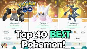 Top 40 BEST Pokemon To Power Up In 2021 In Pokemon GO! | Which Pokemon Are  Worth Powering Up?! - YouTube