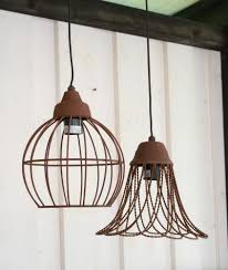 Hänge Lampen Vintage Loftlampe Fabrik Deckenlampe Rost
