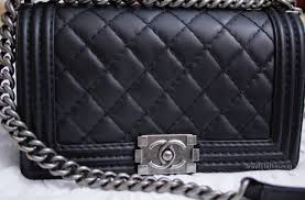 Here's a Story about a Boy... | Chanel Quilted Boy Bag ... & Although I've been wanting to get this bag for years, it was still a big  ticket item purchase. I also hesitated since I just bought my Balenciaga a  few ... Adamdwight.com