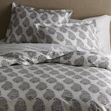 anic block print paisley bedding west elm living with