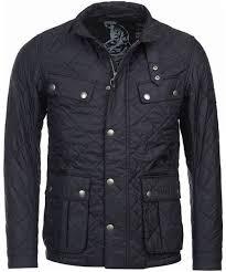 Men's Barbour International Ariel Quilted Jacket & Men's Barbour International Ariel Quilted Jacket - Black Adamdwight.com