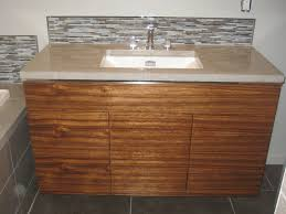bathroom concrete countertops pictures. custom made bathroom w/ zebrawood vanity and concrete countertops pictures s