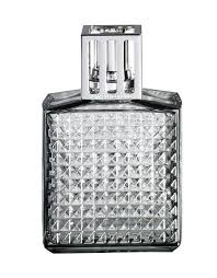 Lampe Berger Model Diamant Grey Home Fragrance Diffuser Purifying And Perfuming 2 X 4 X 5 Inches Made In France
