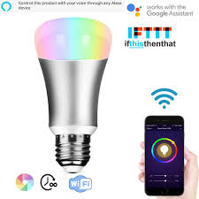 How To Automate Lights With Alexa Wifi Smart Led Light Bulb Work With Amzon Alexa Home