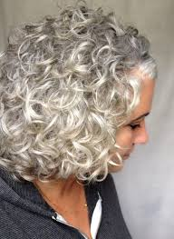 Short Grey Hair Style silvergray curls crazy curls pinterest gray gray hair 6659 by wearticles.com