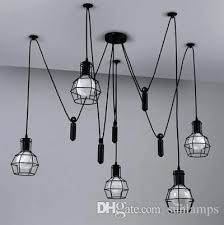 diy vintage kitchen lighting vintage lighting restoration. Pulley Lamp Light Pendant . New Modern Loft Vintage Industrial Lights W Adjustable Wire Lamps Diy Kitchen Lighting Restoration