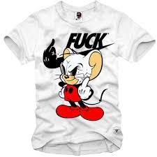 Dù Gấp In Hình Chuột Mickey Dễ Thương