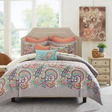 brilliant hampton hill persian paisley bed sets the home with regard to echo vineyard queen comforter set plans 7