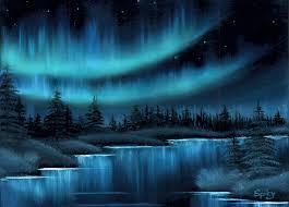 the northern lights by spikylein the northern lights by spikylein