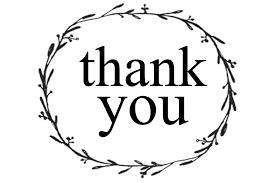 Thank You Black And White Printable The Southern Mercantile Blog