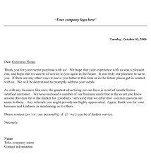 Free Business Thank You Letter Template Alternate Thank