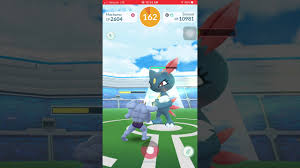 Pokemon Go - Tier 2 Sneasel Raid solo w/ level 28 - YouTube