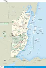 printable travel maps of belize  moon travel guides