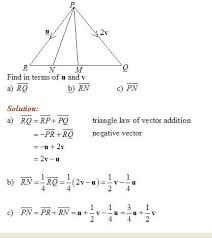 vector geometry solutions examples videos  vector geometry