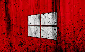 Red Windows 1.0 Wallpaper 4K (Page 1 ...