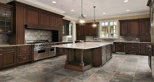 kitchen floor tile ideas with oak cabinets unique dark kitchen cabinets with light tile floors kitchen