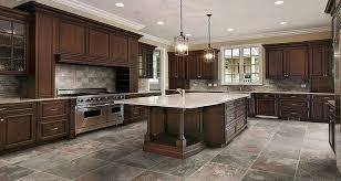 kitchen floor tile ideas with oak cabinets unique dark kitchen cabinets with light tile floors kitchen