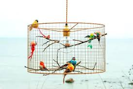 birdcage ceiling light uk copper pendant chandelier image 0 covers menards birdcage ceiling light uk