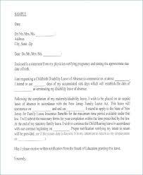 Sick Leave Letter To Manager Sample Of Formal Moulden Co