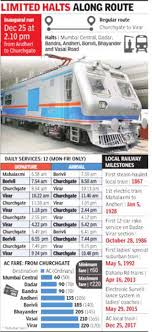 Kolkata Local Train Fare Chart 10 Years After Plan Ac Local To Start Running From