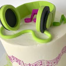 Image result for cake headphones