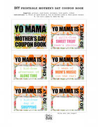 from cul de sac cool diy printable mother s day coupon book yo printable mother s day coupon book give mom a little handmade treat that will last all year long a printable coupon book just for her