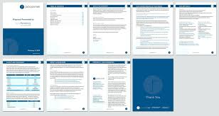 Proposal Templates Word template Simple Website Design Proposal Template 1