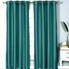 turquoise blackout curtains blue grommet home decor ideas light