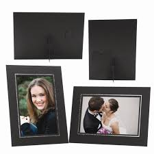 whole black cardboard elite easel photo mount
