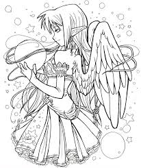 Anime Coloring Pages Art For Kids Chibi Coloring Pages Fairy