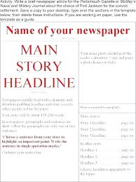 Newspaper Articles Template Editable Newspaper Template Awesome Blank Of Good Free