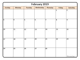 february printable calendar 2019 february 2019 calendar 56 templates of 2019 printable calendars