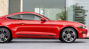 2018 ford cars.  Cars Throwback Looks Highlight The 2018 Ford Mustang Pony Package In Ford Cars E
